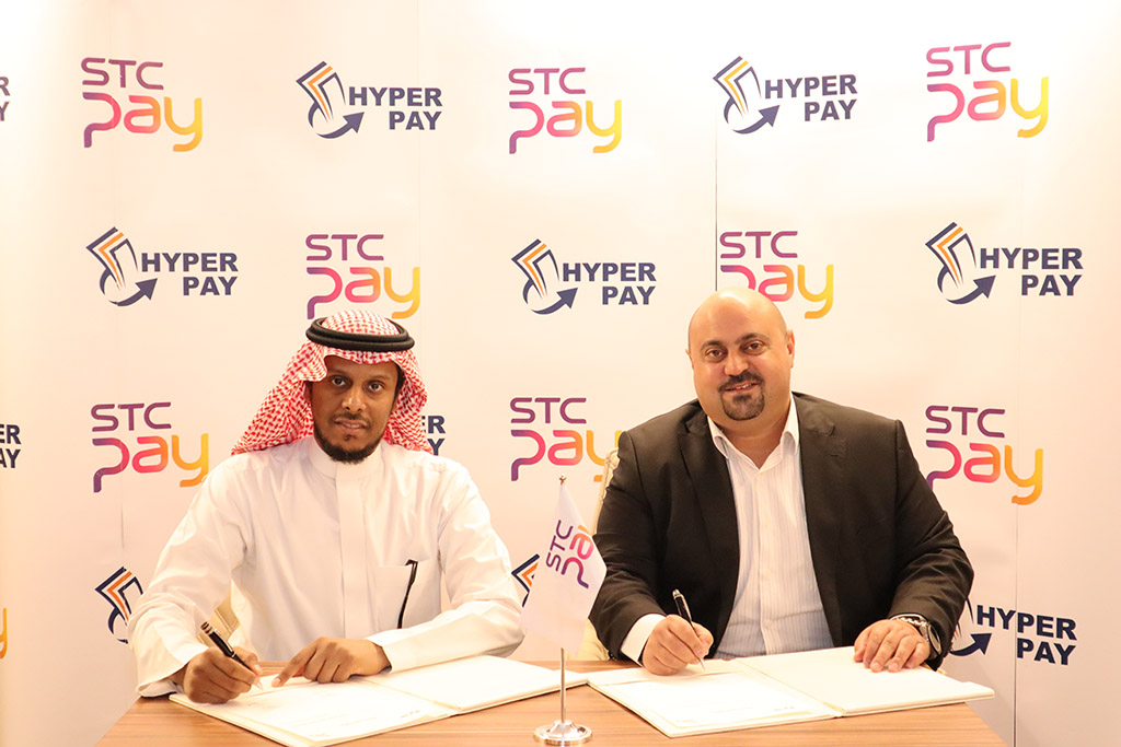 Signing an agreement with Hyperpay