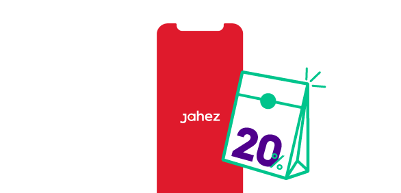 pay with stc pay card from jahez and get 20% back off your order price!